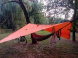 Płachta biwakowa - Tarp 3x3 - DD Hammocks - Orange