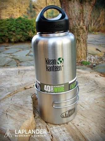 Butelka Klean Kanteen Wide 1182 ml Brushed Stainless