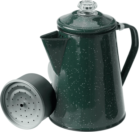 Czajnik - Perkolator - GSI Percolator 8 Cup - Green