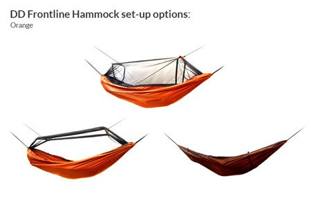 Hamak DD Hammocks Frontline - Orange
