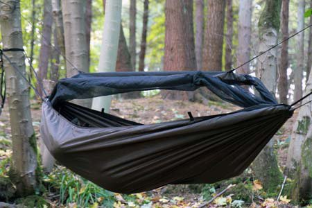 Hamak DD Hammocks Travel Bivi - Coyot Brown