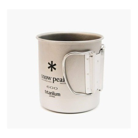 Kubek tytanowy - Snow Peak Titanium Single Mug 600