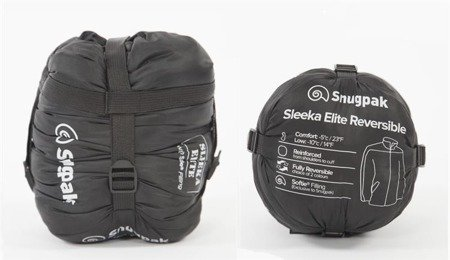 Kurtka Sleeka Elite Reversible - Snugpak - Black\Olive