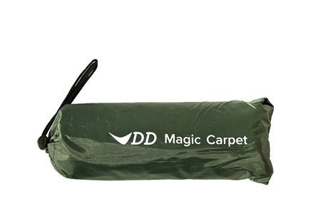 Mini płachta biwakowa - Tarp DD Magic Carpet 1.4x1.4 - DD Hammocks - Olive