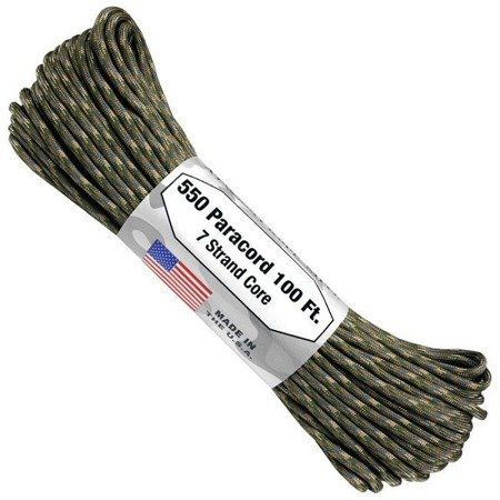 Paracord 550 linka spadochronowa - Multicam - Original USA - 15 m