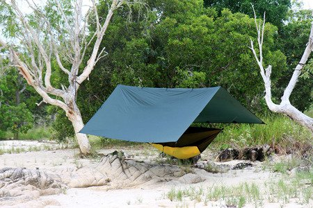 Płachta biwakowa - Tarp Superlight 3x2.9 - DD Hammocks - Olive