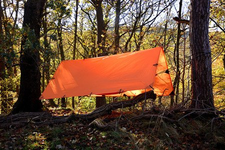 Płachta biwakowa - Tarp Superlight 3x2.9 - DD Hammocks - Orange
