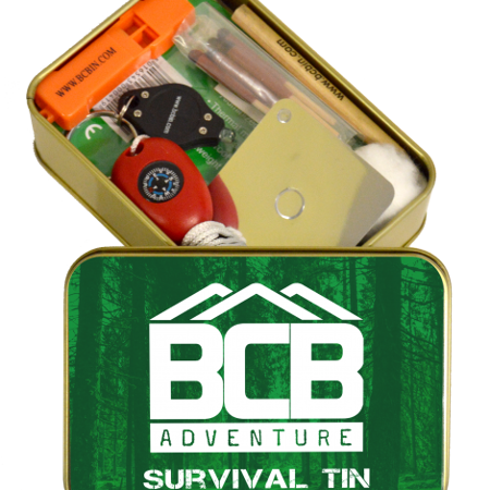 Zestaw Survivalowy Adventure Survival Tin - BCB