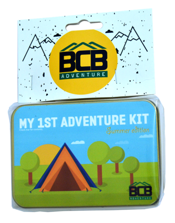 Zestaw Survivalowy BCB - My First Adventure Tin