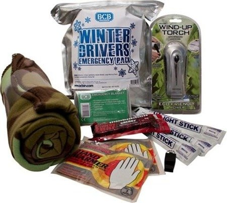 Zestaw Survivalowy BCB Winter Drivers Emergency Kit